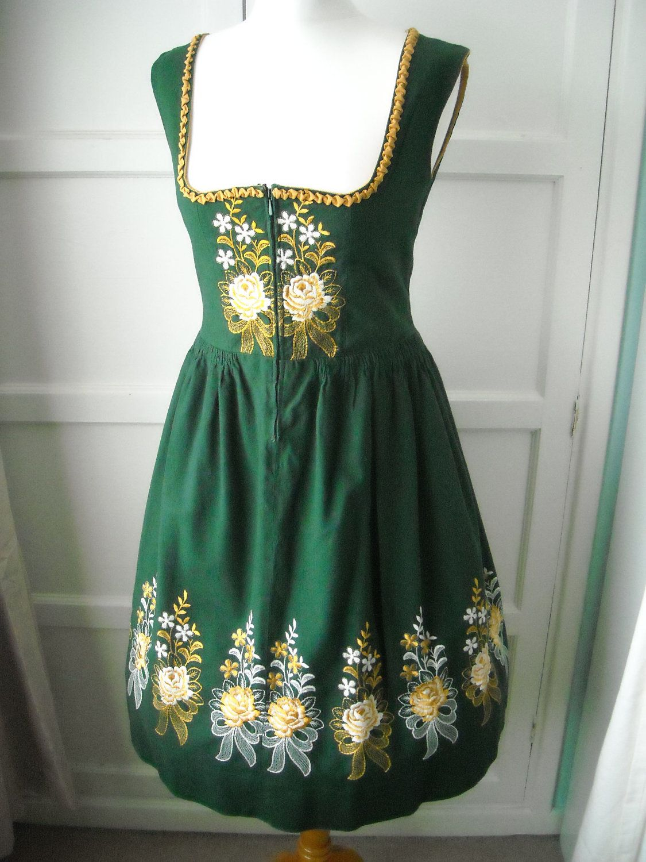 3tlg German Bavarian Traditional Dirndl Dress Womens Oktoberfest Beer Costume