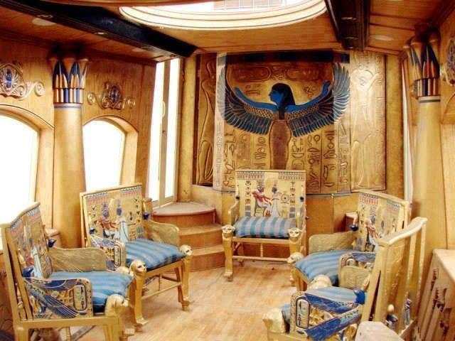 Amazing Kemetic room  Home Decor  Egyptian furniture
