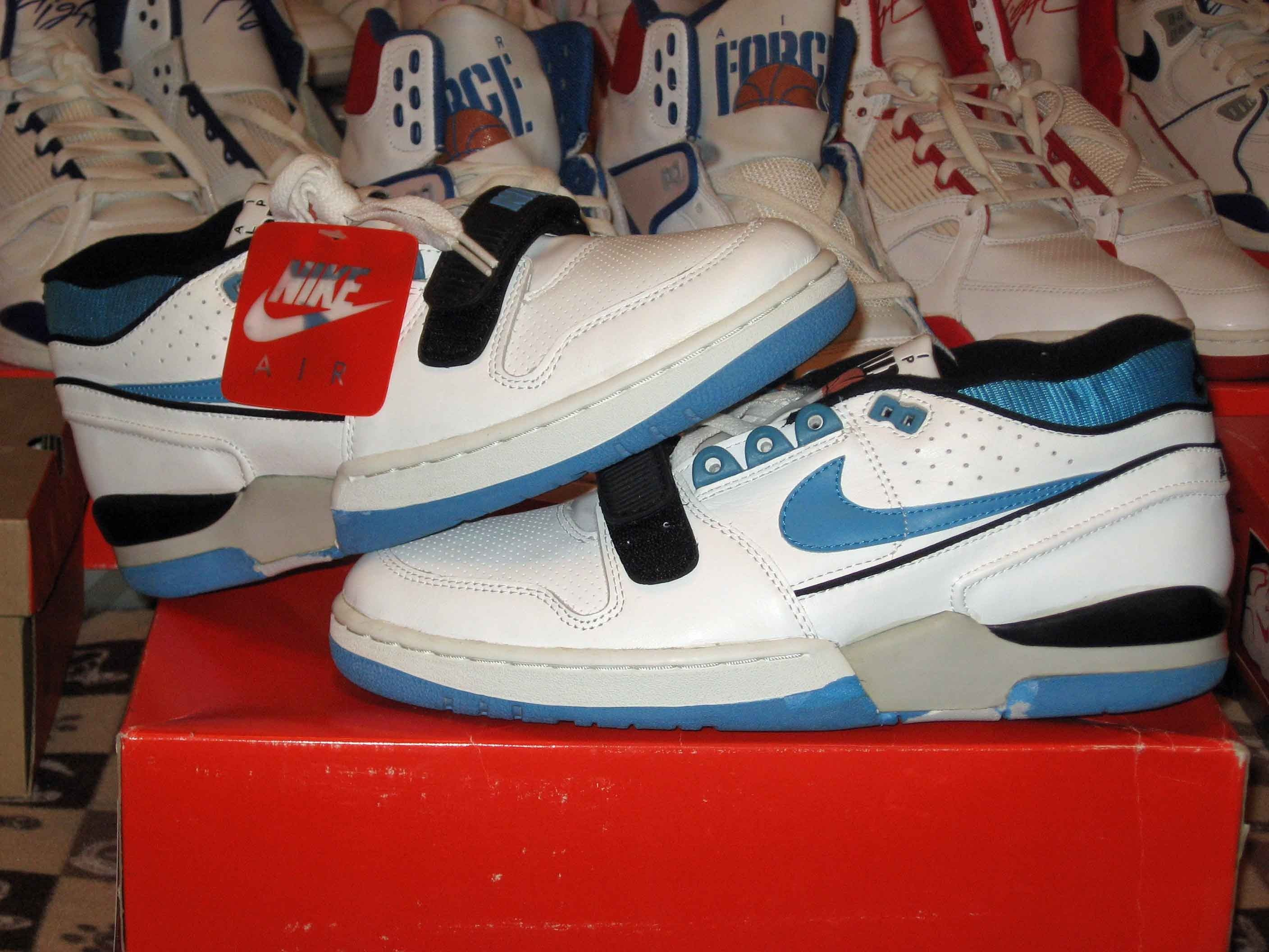nike vandal 1993 charles barkley shoes