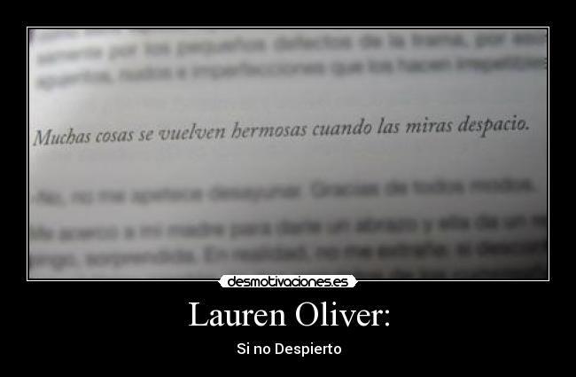 Si no despierto lauren oliver ebook download ai fandeluxe Choice Image