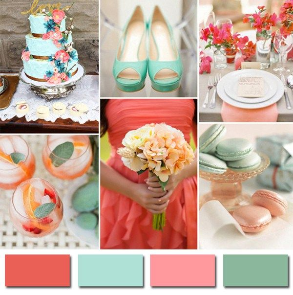 color trends for 2014 weddings wedding themes for spring 2014