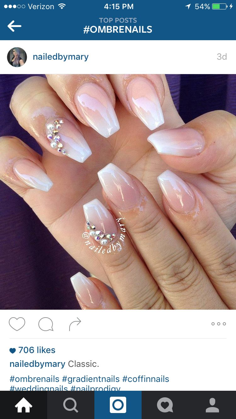 Ombré French | My Style | Pinterest | Makeup, Manicure and Nail nail