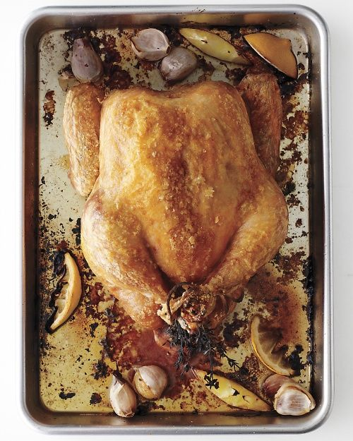 Every-Week Roast Chicken - 5 minutes of prep, virtually no active cooking time, and you get a satisfying family meal -- plus leftovers!
