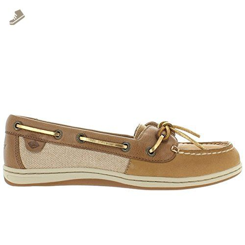Sperry Top-Sider Women's Firefish Core Linen/Oat Boat Shoe 10 M (B)