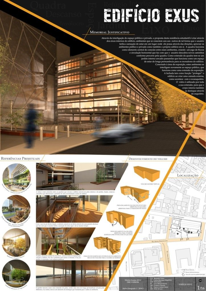 P1 apresenta o c pia layout for Architectural columns