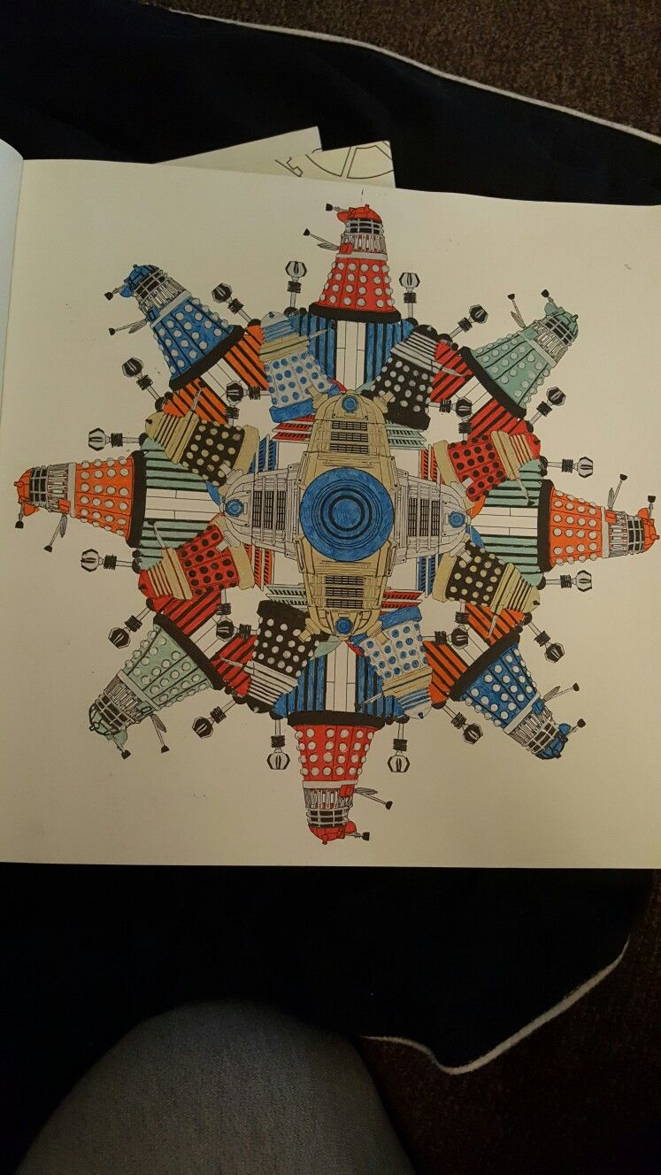 doctorwho doctorwhocoloringbook coloringbook dalek coloring