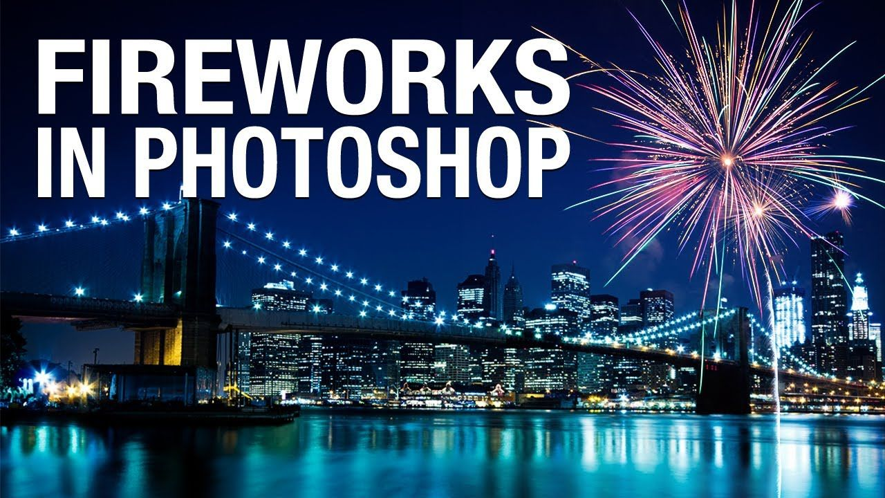 How to Add Fireworks in Photoshop   IceflowStudios. Howard Pinsky. http://youtu.be/DbUL4st_4Sw