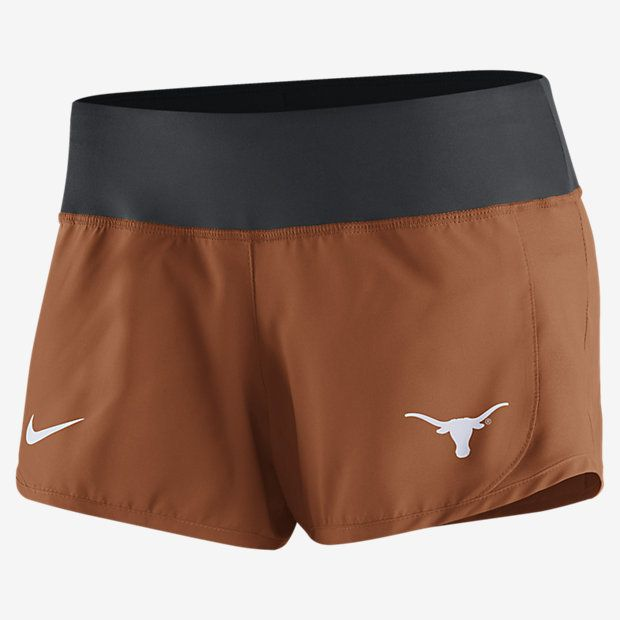 Nike College Gear Up Crew (Texas) Women s Running Shorts  2faceea9f