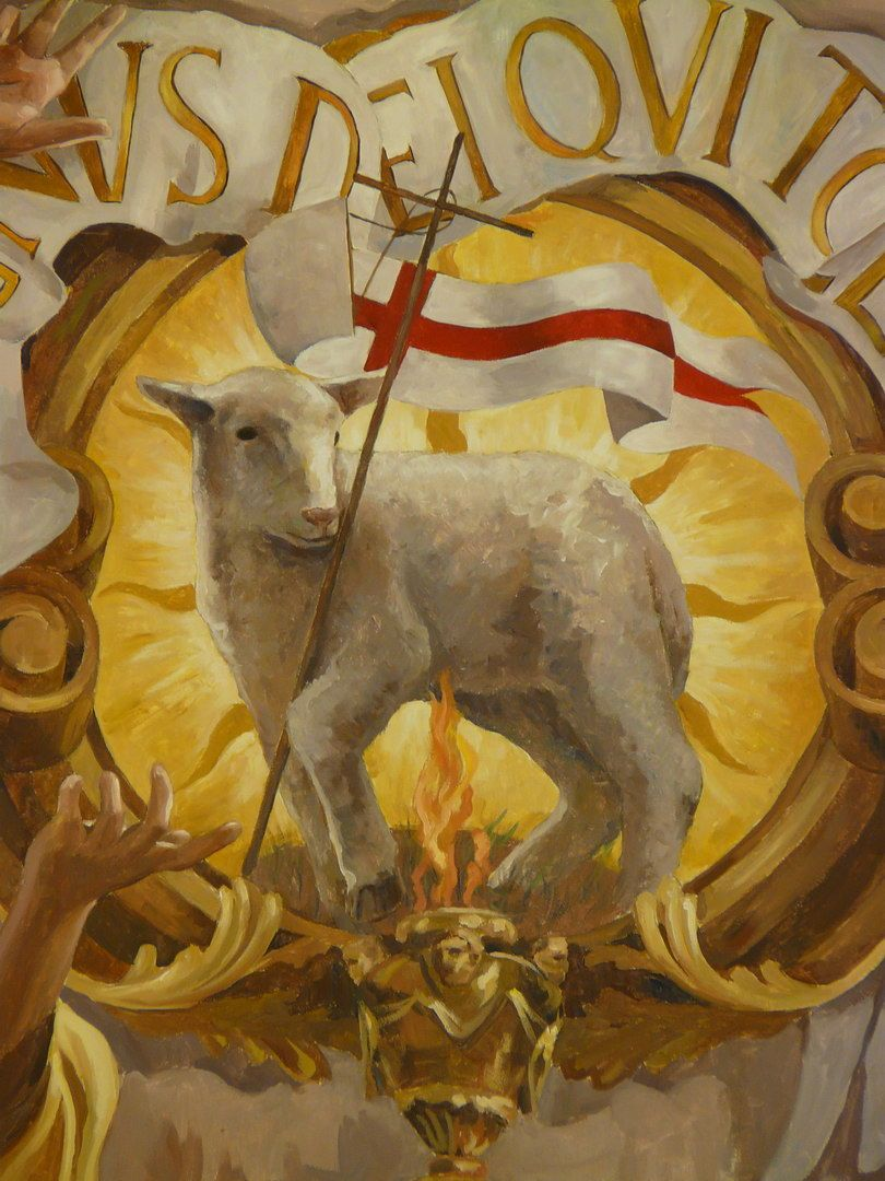 Agnus Dei Lamb Of God Cordero De Dios Work Of Art By Ra L  # Muebles Dios Rey Pontevedra