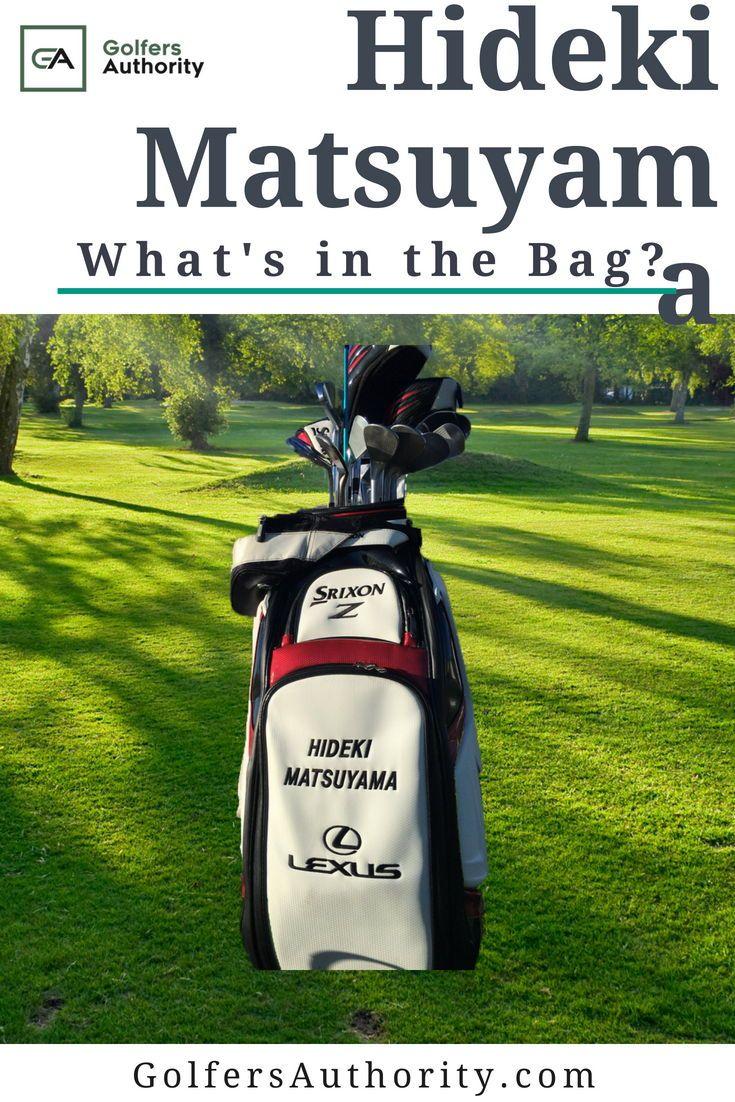 Hideki Matsuyama WITB? (What's in the Bag)   Golf bags. Golf. Matsuyama