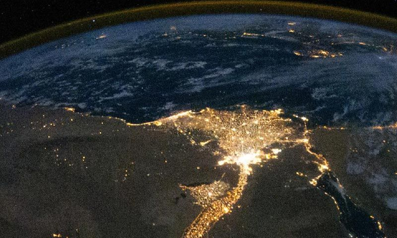 Imágenes Nocturnas Satelitales Bing Imágenes Earth At Night Nile River Egypt