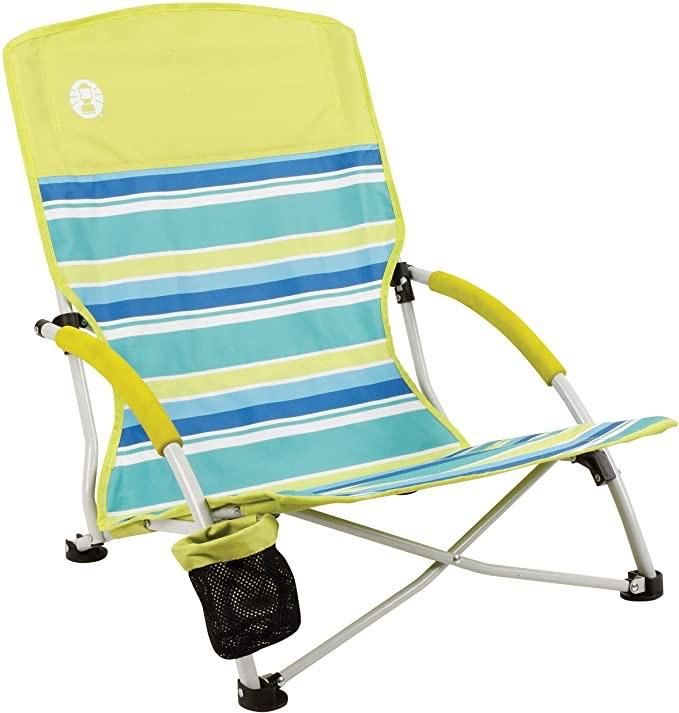 Coleman Camping Chair Lightweight Utopia Breeze Beach Chair Outdoor Chair In 2021 Backpack Beach Chair Folding Beach Chair Coleman Camping Chairs