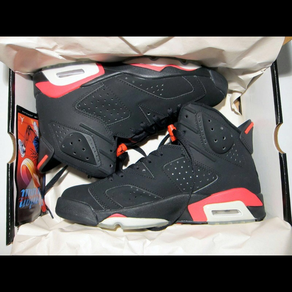 new product 4680e cb2aa Jordan Shoes   Infrared 6'S   Color: Black/Red   Size: 9.5 ...