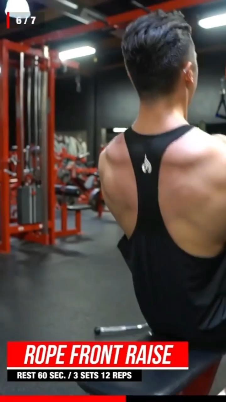 Shoulder Workout | ARK Fitness | Part 88