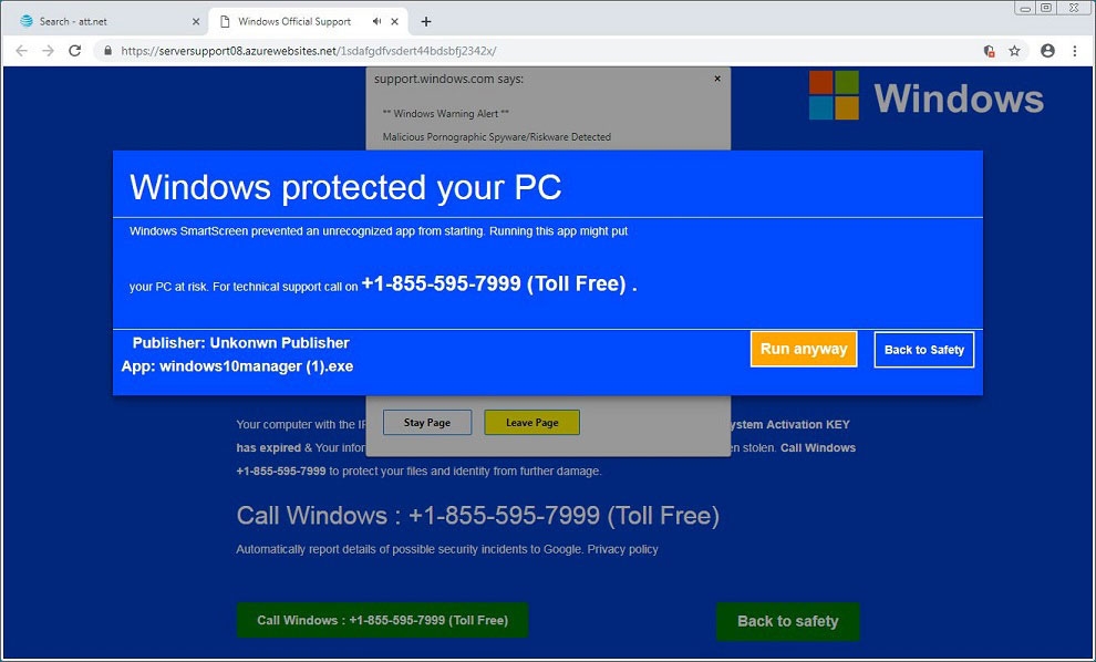 How To Disable Or Remove Windows Protected Your Pc Popup Malwarebytes Antivirus Program System Restore