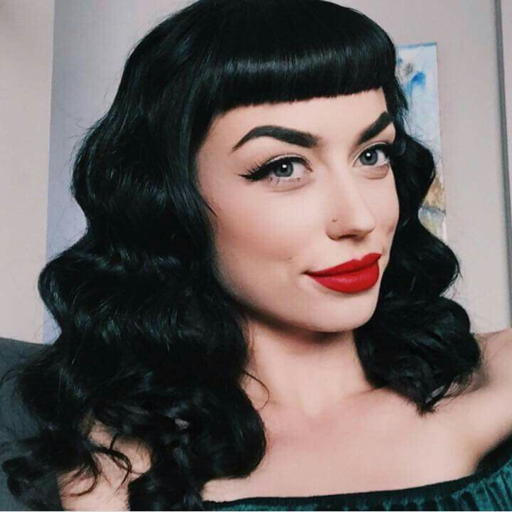 Bryona Ashly Vintage Hairstyles Rockabilly Hair Hair Styles