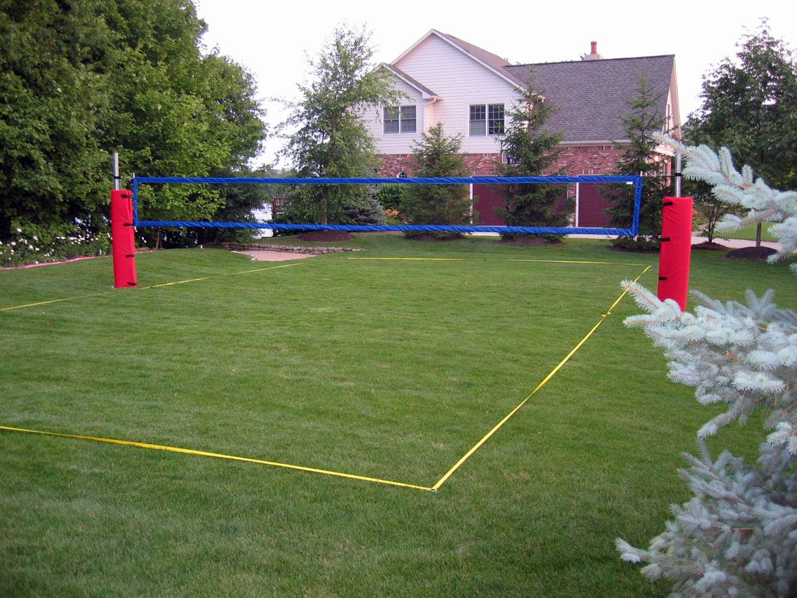 How To Construct A Volleyball Court Volleyball Court Backyard Beach Volleyball Court Volleyball Room