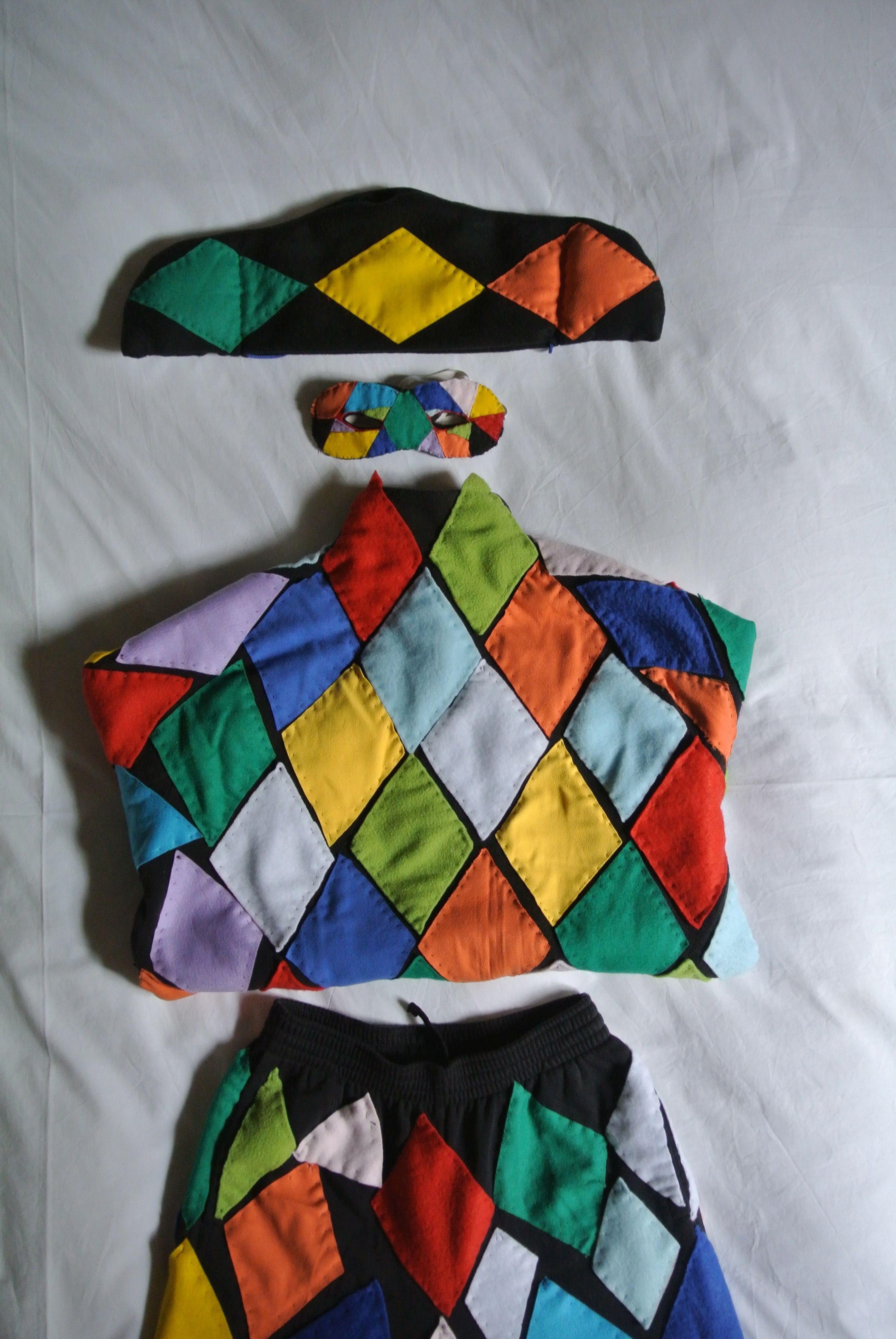 ARLECCHINO-costume per Elvis by Sandra Federico.