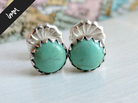 charm sterling avery james barse stud turquoise earrings genuine p and silver teardrop puppy
