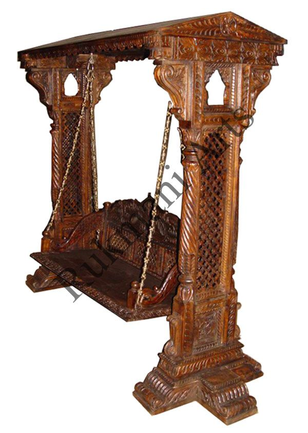 Code buy carved indian maharaja wooden swings