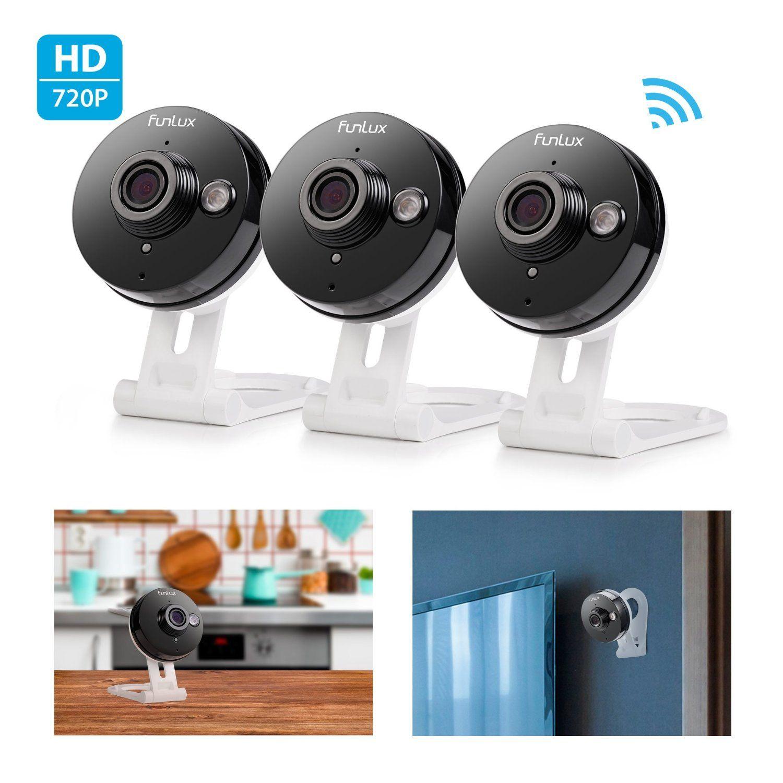 Funlux 720p HD Wireless Smart Home Day Night