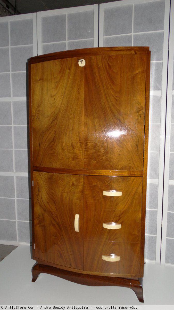 Bureau Et Secretaire Art Deco Art Deco Style Art Deco Mobilier Art Deco
