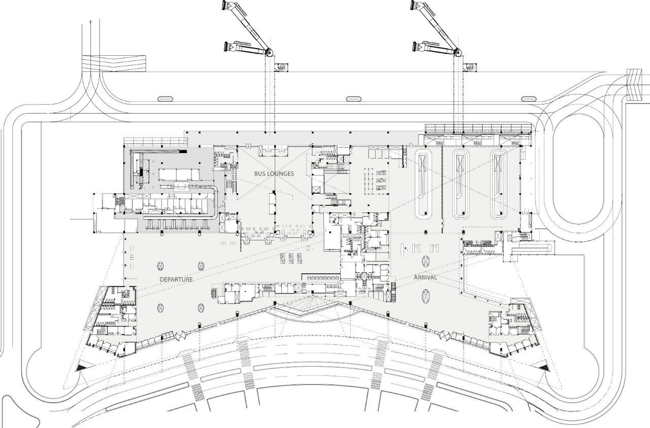 Gallery Of New Terminal At Lucknow Airport S Ghosh Associates 20 Arsitektur