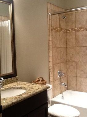 Need Help To Lighten Up Bathroom Tan Bathroom Brown Tile Bathroom Brown Bathroom