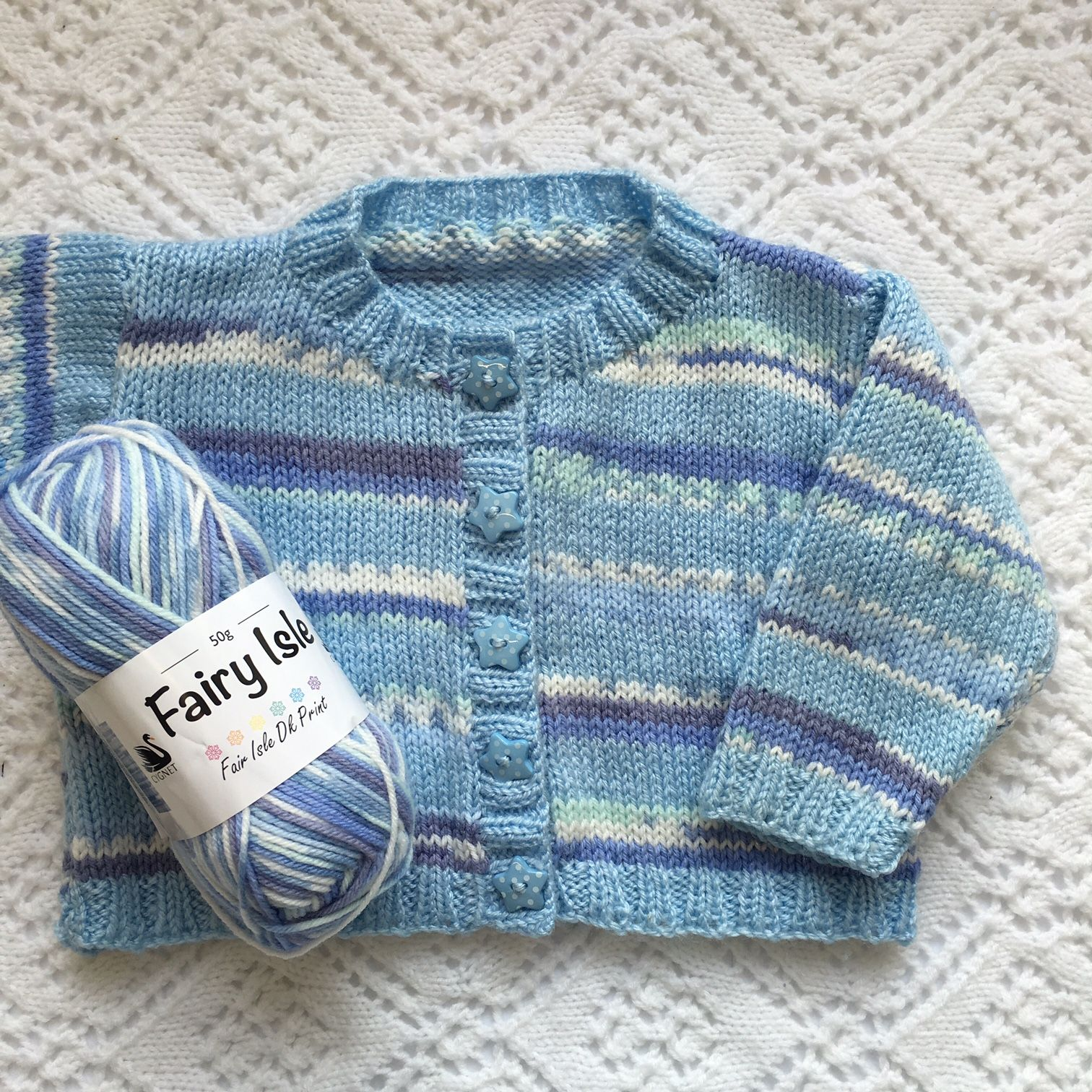 Cygnet yarns fairy isle dk striped cardigan free baby knitting cygnet yarns fairy isle dk striped cardigan free baby knitting pattern loads of other pdf patterns bankloansurffo Choice Image