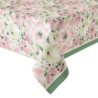 JCPenney Home™ Spring Floral Tablecloth Found At @JCPenney Spring  Tablecloths, Easter Tablecloth,