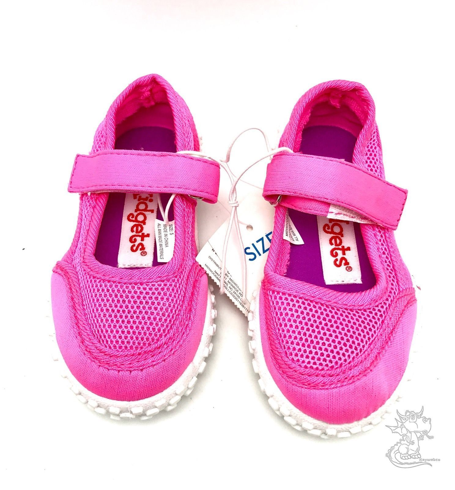 Baby Girls Kid s Slip Water Shoes Pink Outdoor Size 5