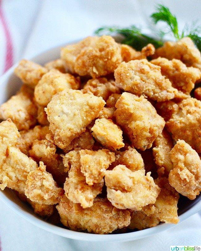 Air Fryer Popcorn Chicken Recipe Easy delicious
