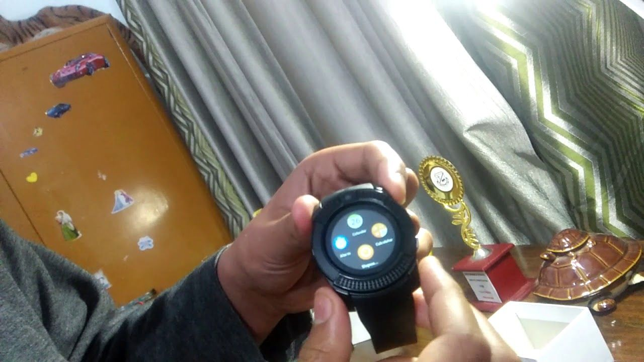 0c0c3708a8471 relógio michael kors digital smartwatch mkt5002. Carregando zoom. Smart  Watch Unboxing all new Rewy vv8 smartwatch with amazing features and price!