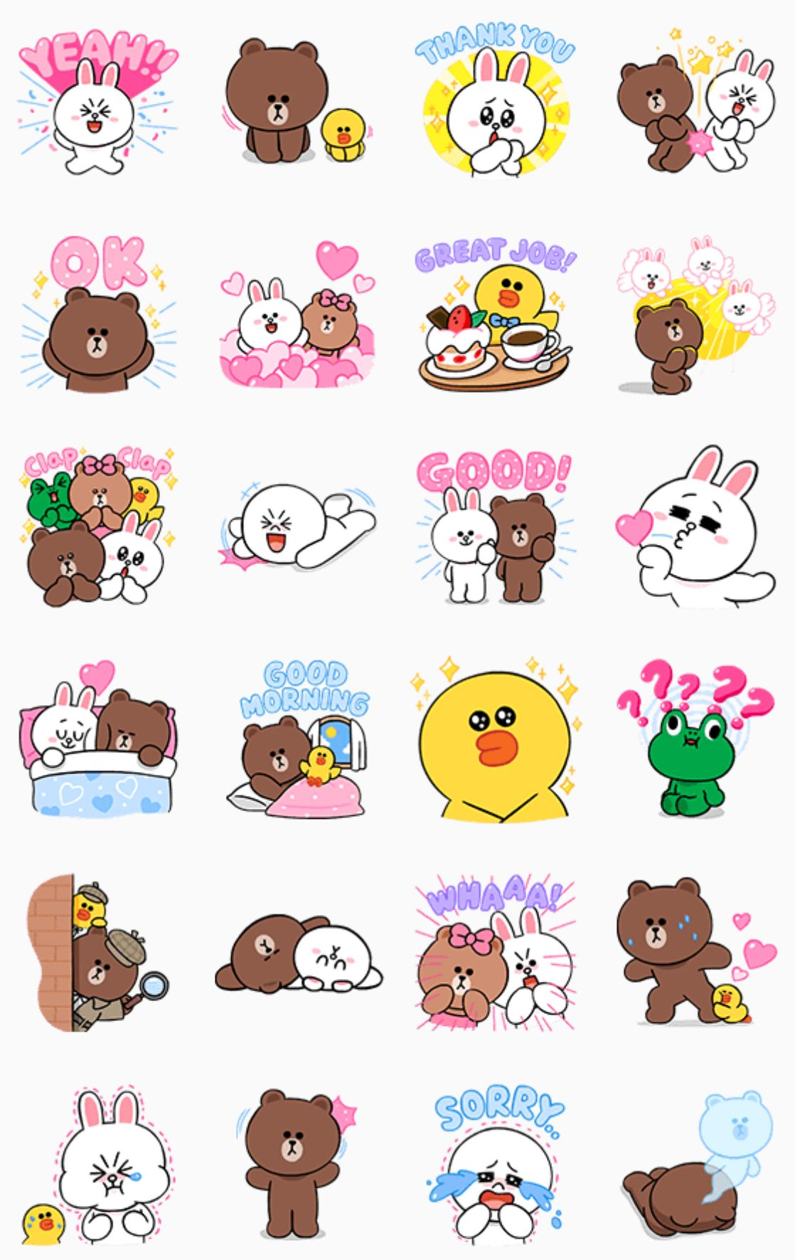 Line Characters - Cute   Soft  47e8730adc
