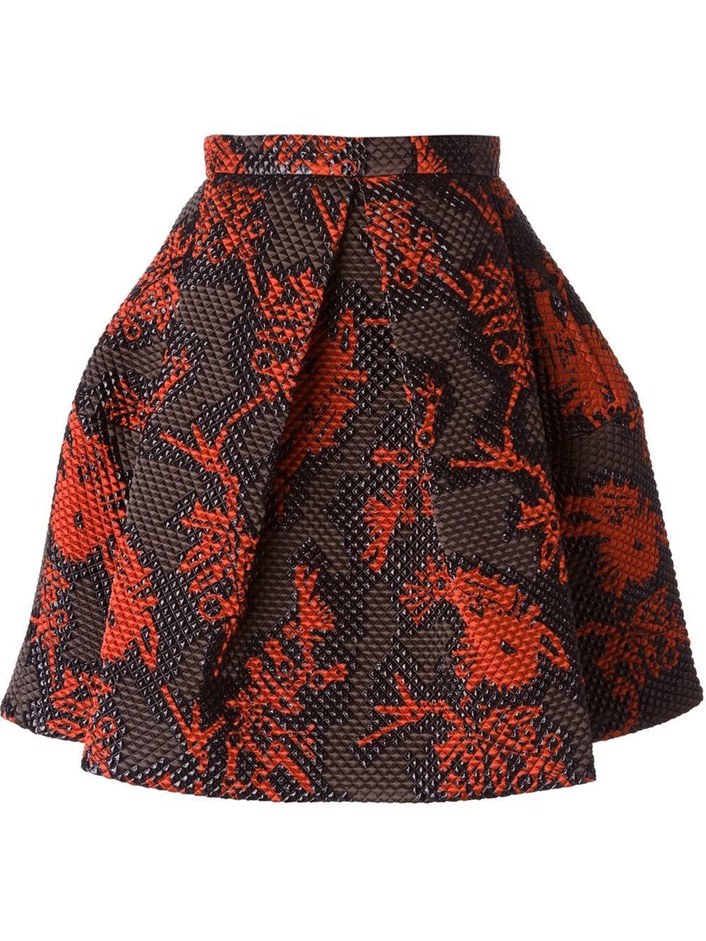 KENZO 'Monster' skirt