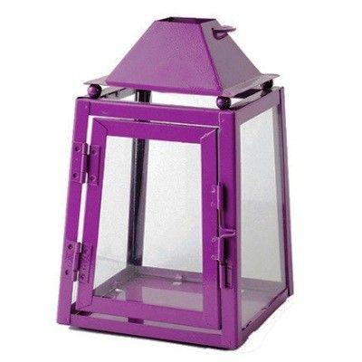 grande lanterne m tal prune d co proven ale deco. Black Bedroom Furniture Sets. Home Design Ideas