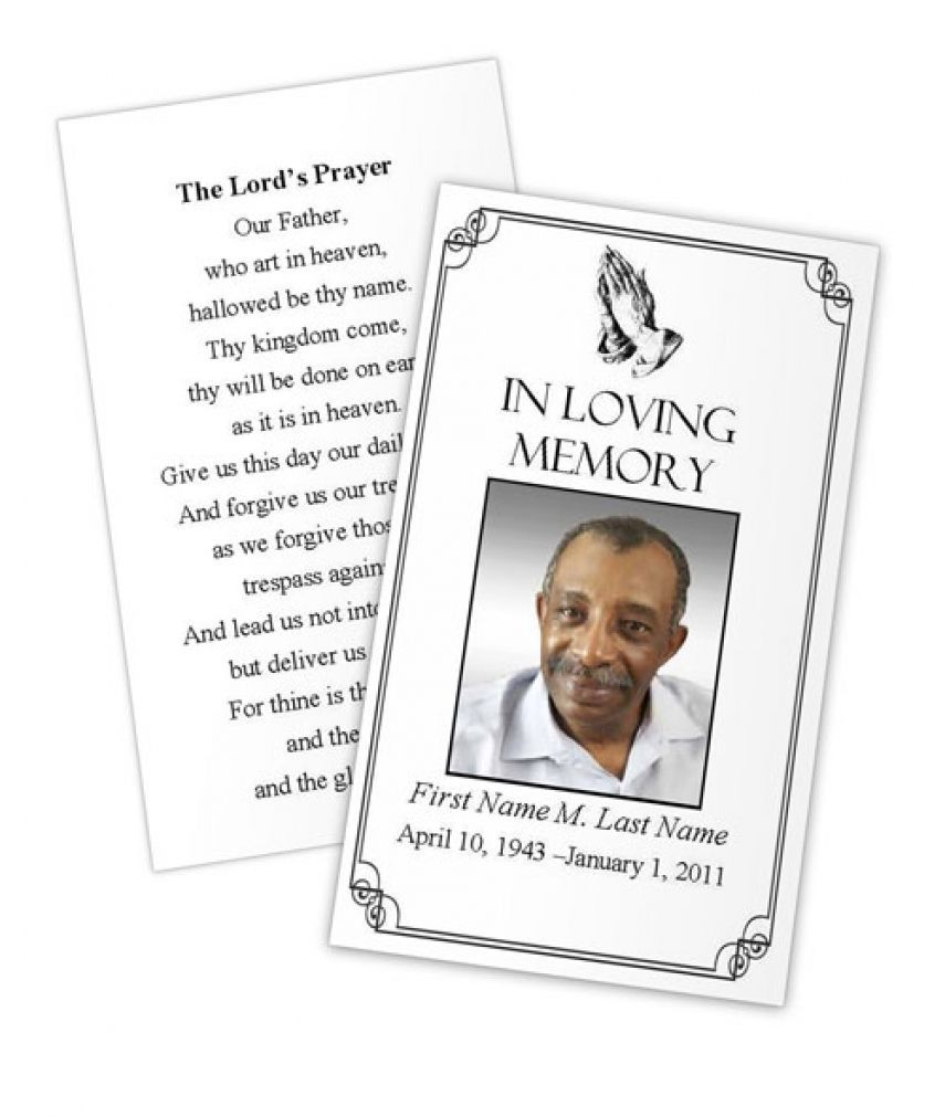 Business Card Photoshop Template Funeral Prayer Card Pertaining To Remembrance Cards Template Prayer Cards For Funeral Memorial Cards For Funeral Funeral Cards