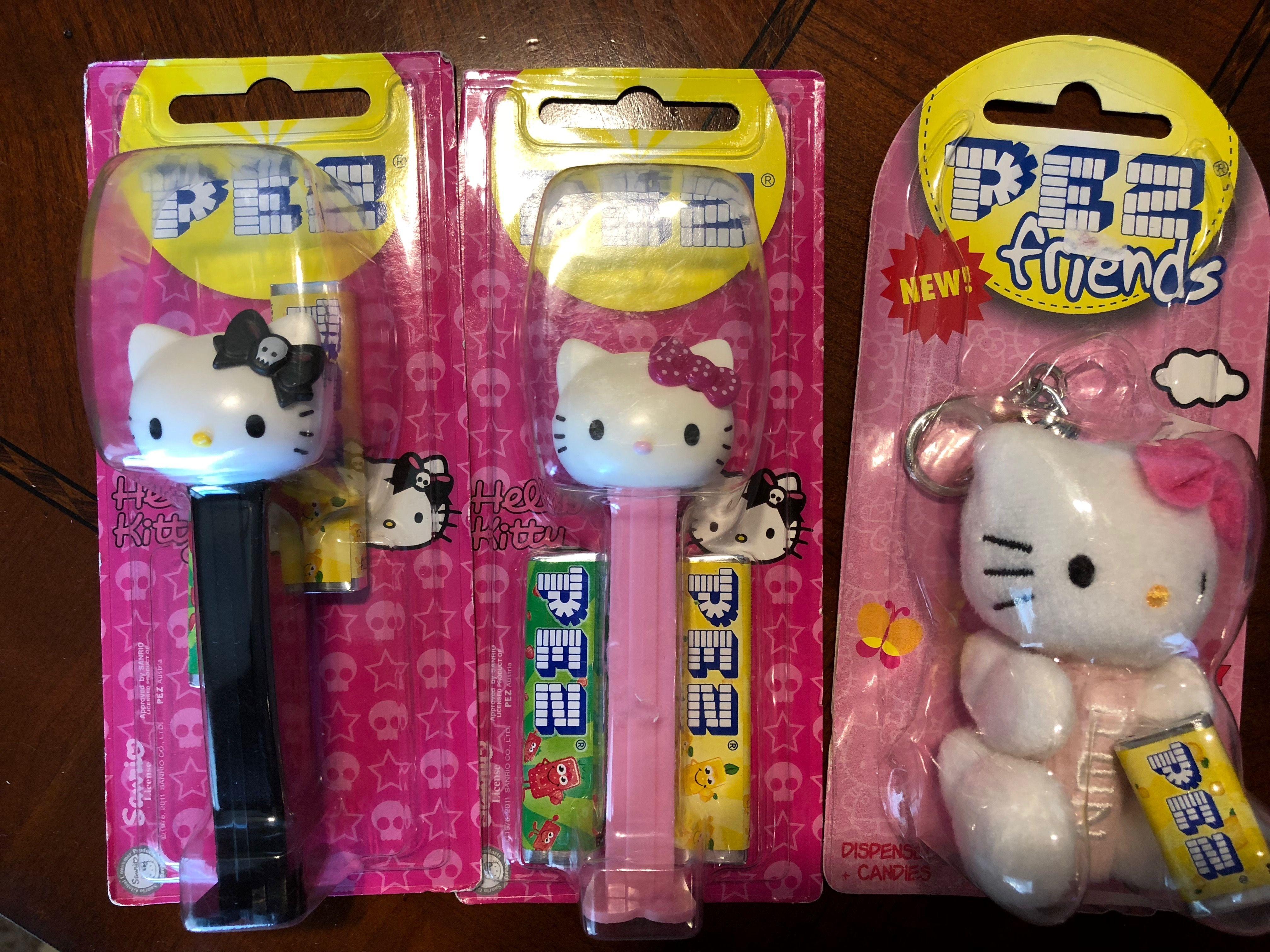 Hello Kitty Pez dolls (With images) Hello kitty, Kitty