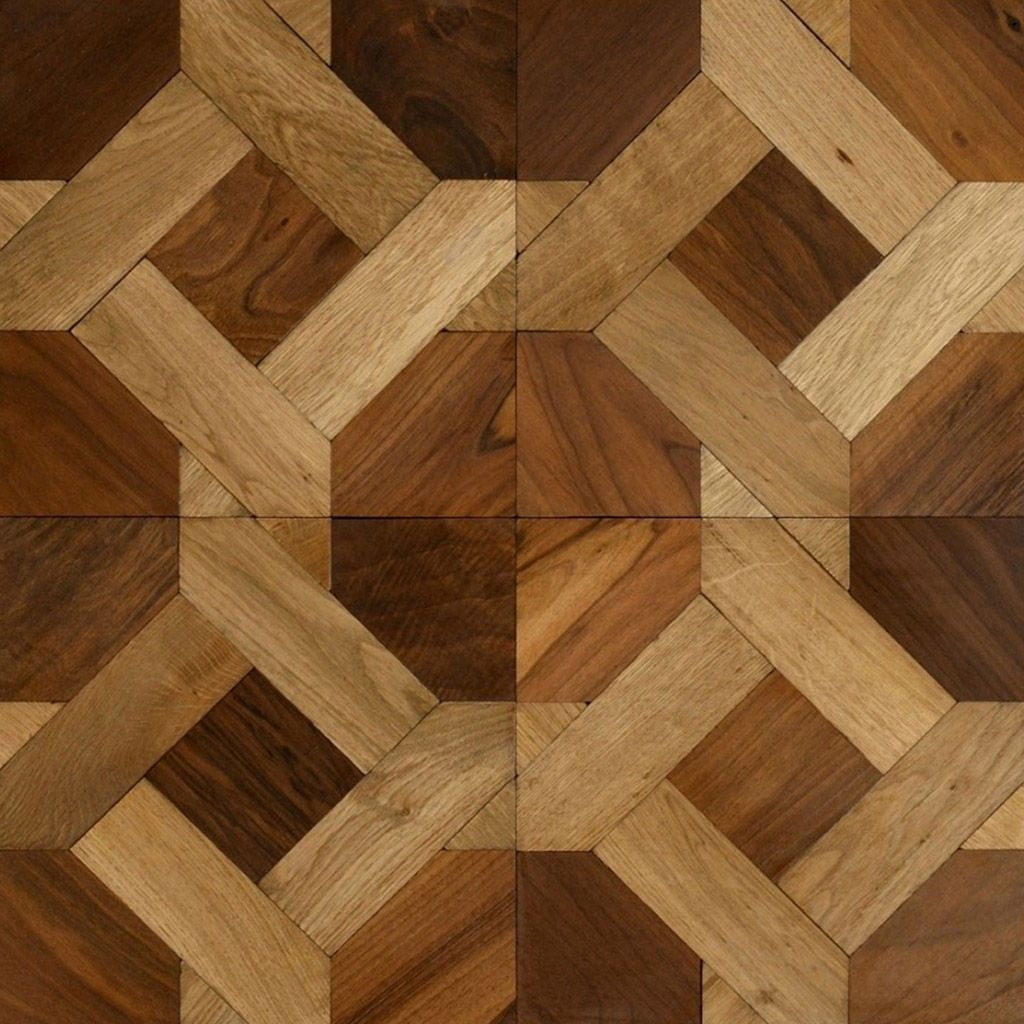 Engineered parquet flooring / solid / in wood / textured COUPLE ...