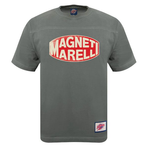 Retro Magneti Marelli logo T-shirt grey  1709ec0f677e1
