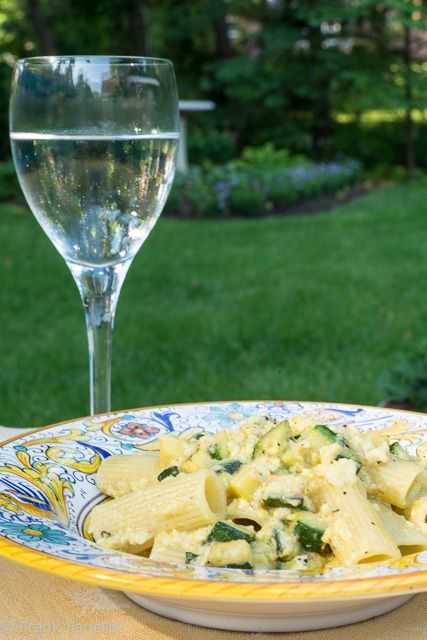 As a longtime resident of Rome, carbonara is one of my very favorite pastas, but in the warmer weather it can be a bit heavy. One way to lighten things up is to make a vegetarian carbonara: substitutethe pancetta (Italian ...