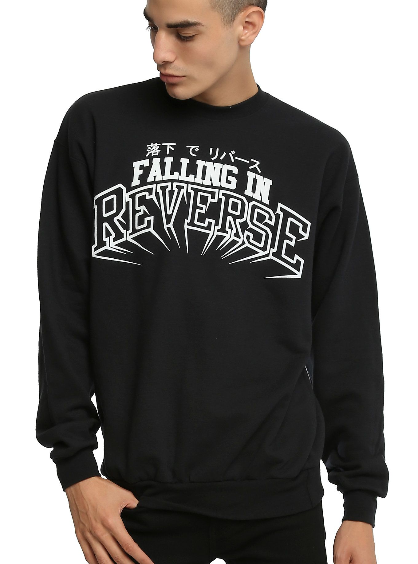 Sites-hottopic-Site | { crewnecks } | Sweatshirts, Sweater hoodie