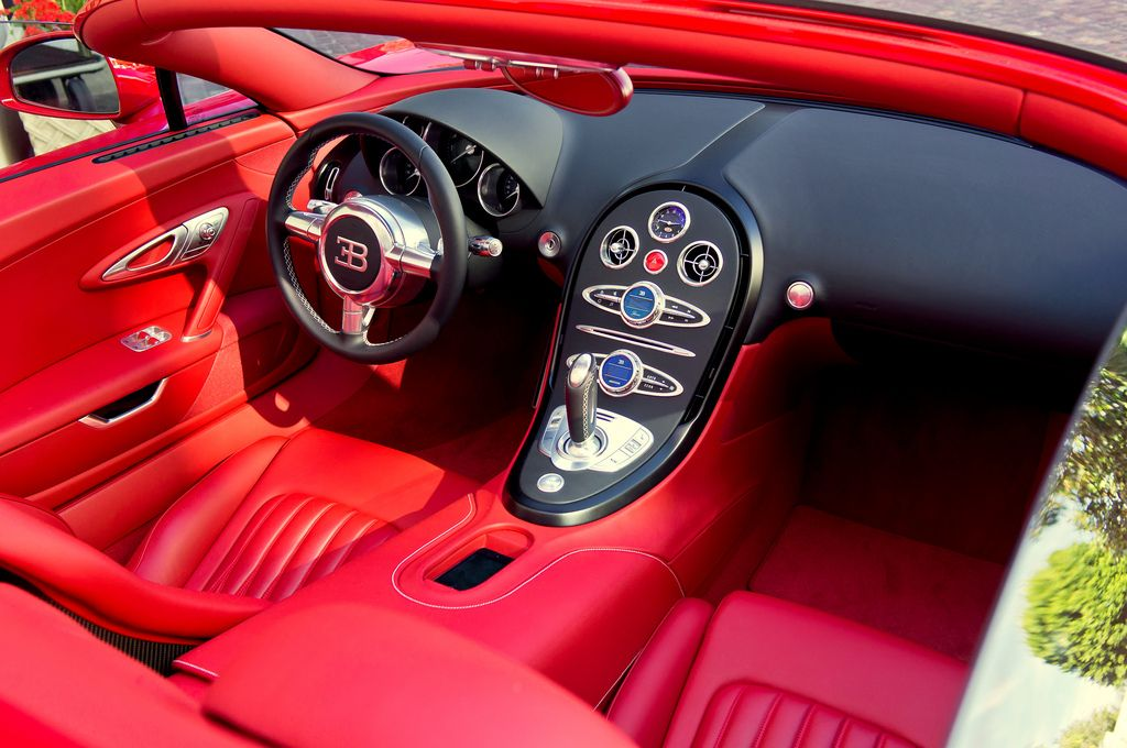 Red On Red On Red By Effspot Bugatti Veyron Interior Red Interiors Cool