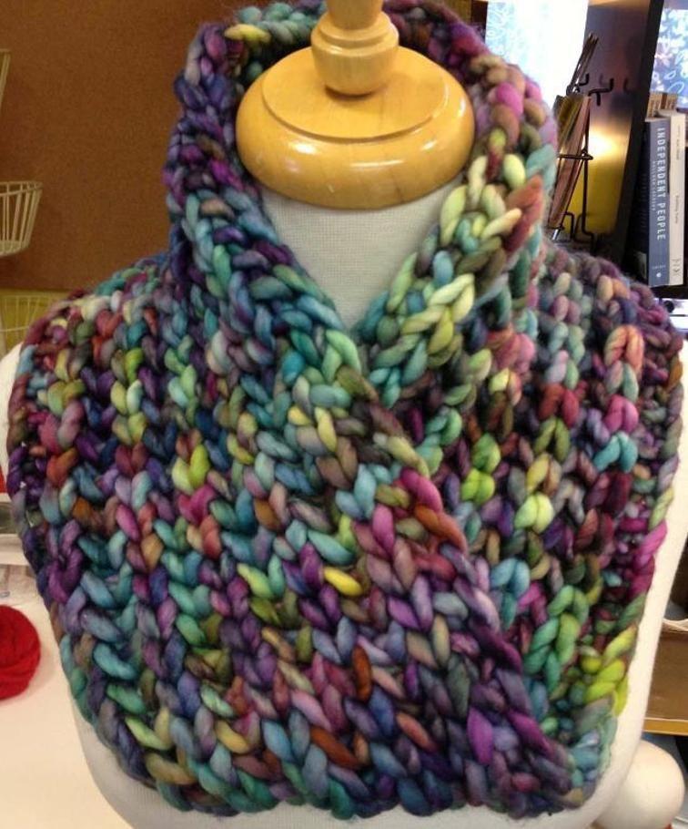 Super Bulky Brioche Cowl | Crochet, Quick knits, Knit crochet