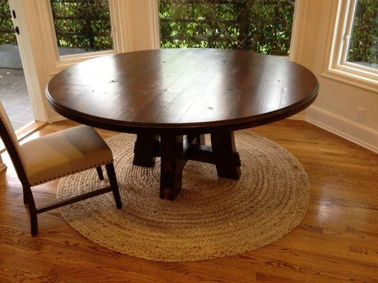 Round Table By Farmhouse Table Company For The Home - 70 round dining room table