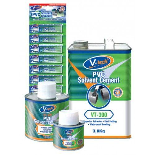 PVC Solvent Cement - VT-300- A premium quality, clear color, medium