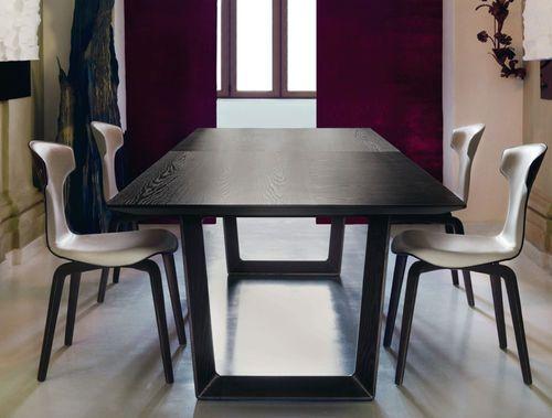 Contemporary wooden table bolero by roberto lazzeroni for Cattelan arredamenti vicenza