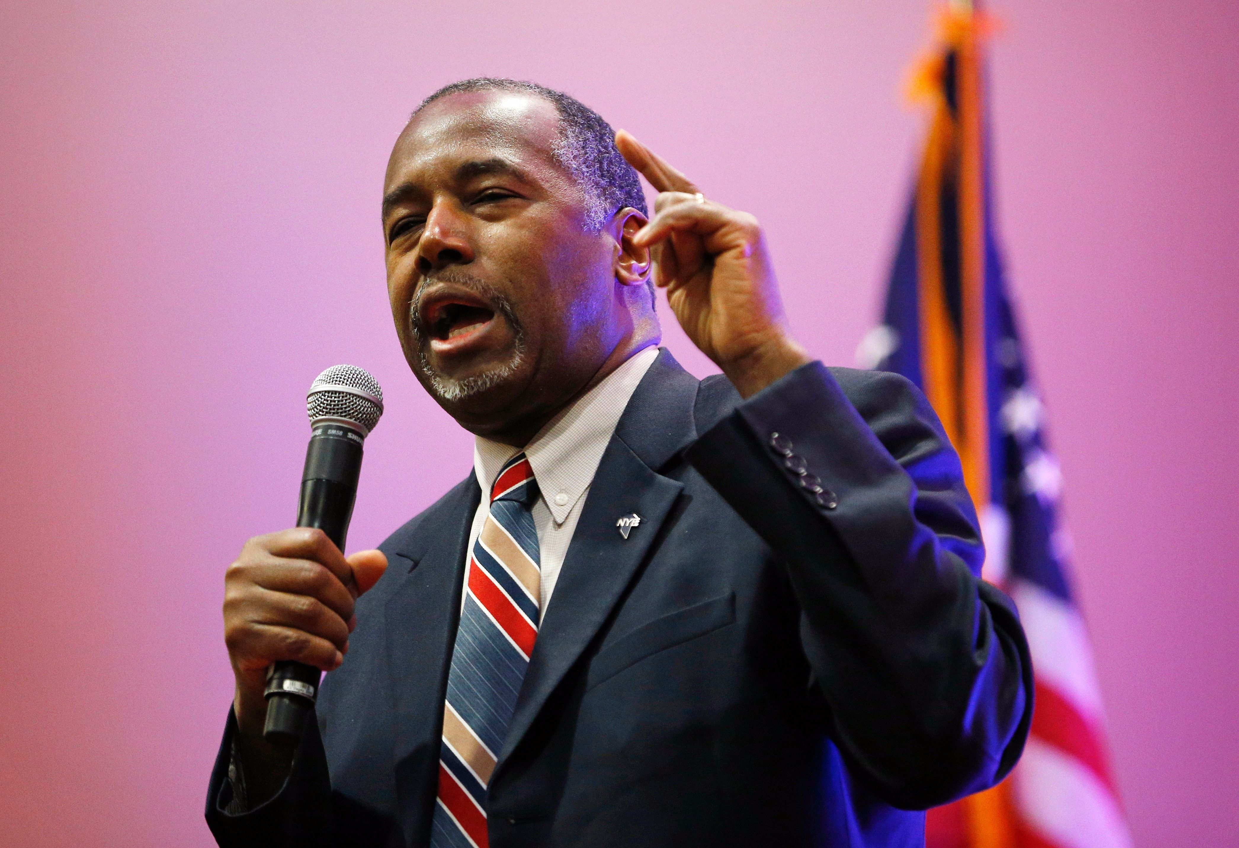 Here's the prescription that Ben Carson needs to write for
