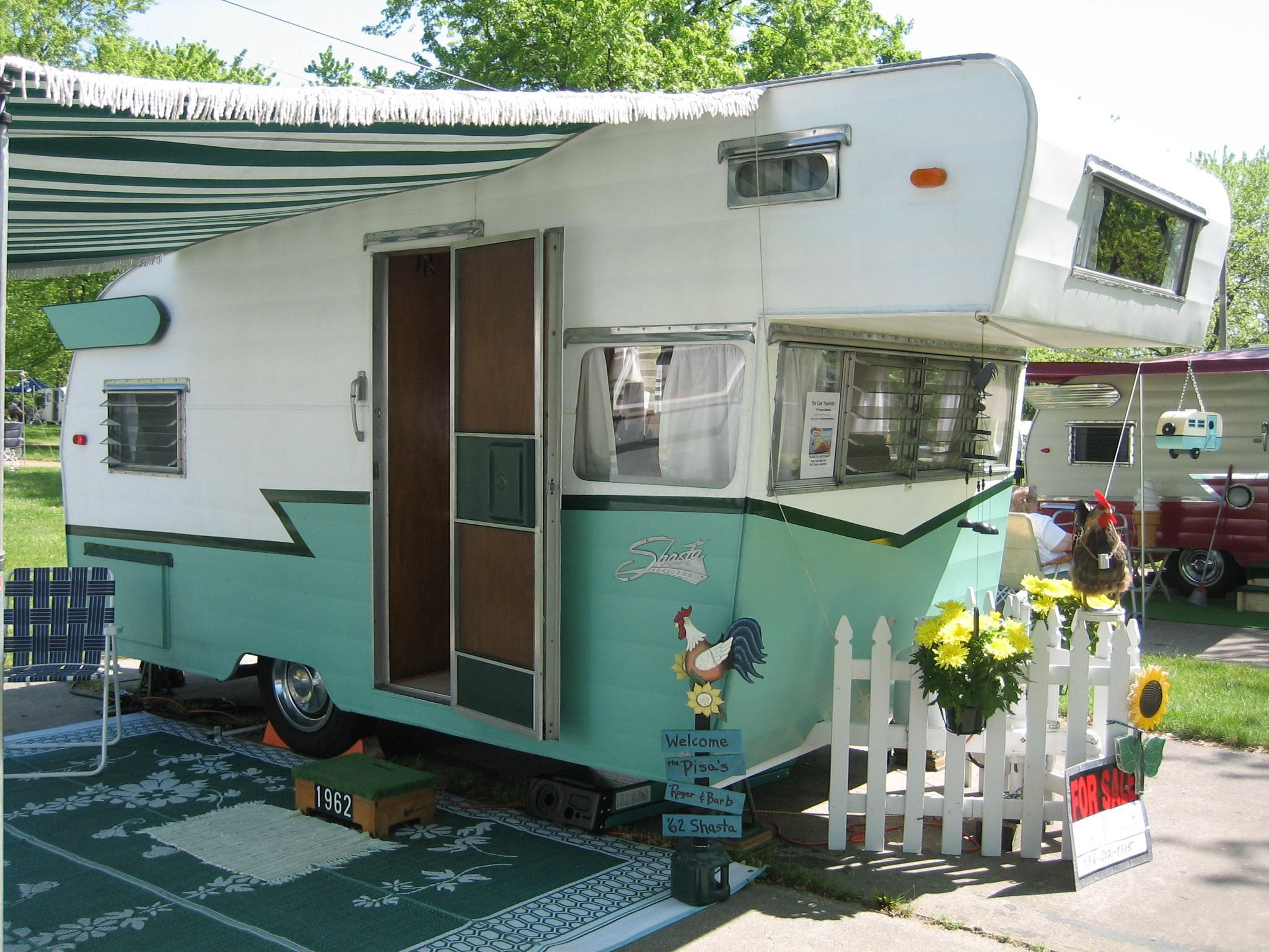 Vintage travel trailers for sale gorgeous shasta astroflyte for sale
