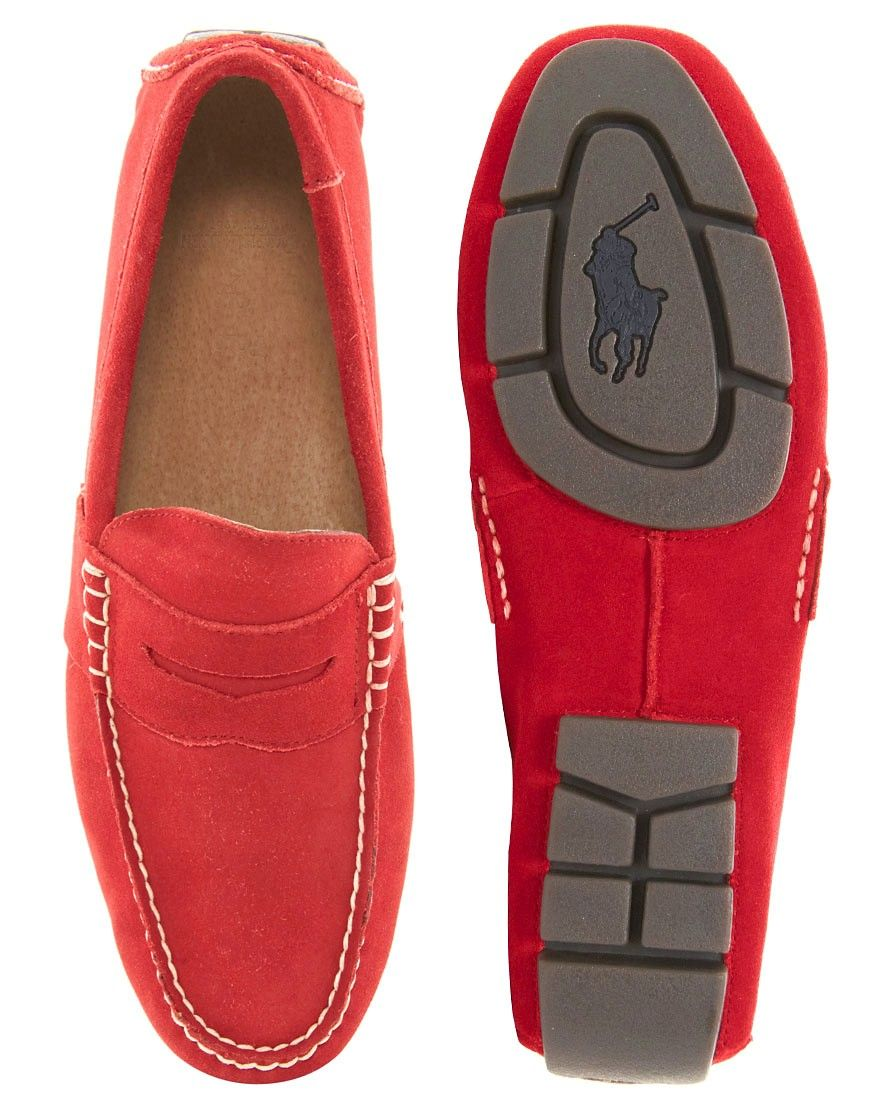 e4e5185a39 Polo Ralph Lauren Telly Suede Loafers